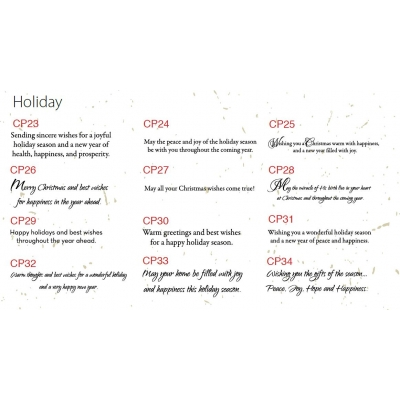 Eco Friendly Custom Holiday Cards Greetings
