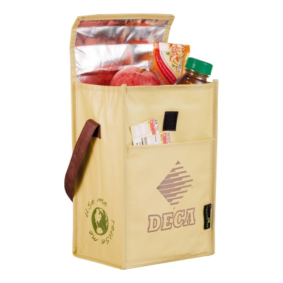 Laminated nonwoven insulated lunch bag