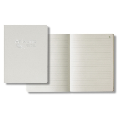 large recycled apple peel notebook