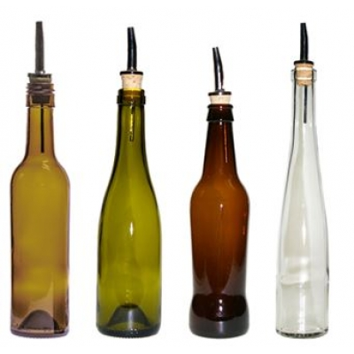 USA Made Recycled Glass Olive Oil Dispenser