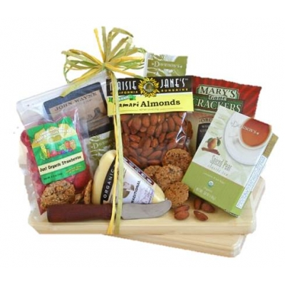 Party Tray w/Cutting Board | Organic