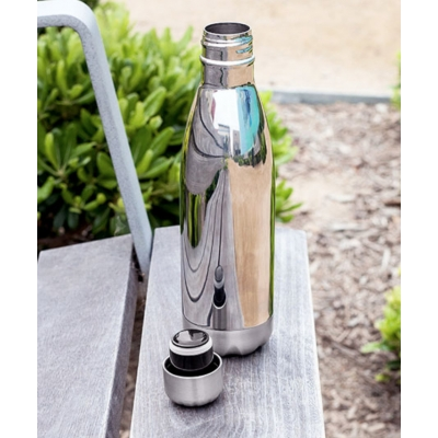 Platinum color - Insulated Stainless Steel Water Bottle