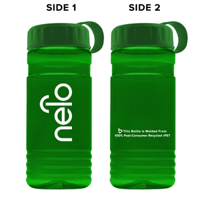 Post-consumer recycled PETE bottle