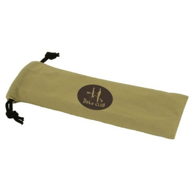 Bamboo Utensil Set Personalized Pouch