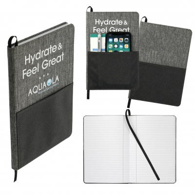 rPET Recycled Journal with Pocket