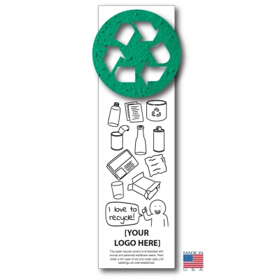 Color - Then Plant™ America Recycles Seeded Bookmarks