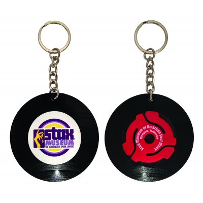 Record Keychain | Recycled | Made in USA