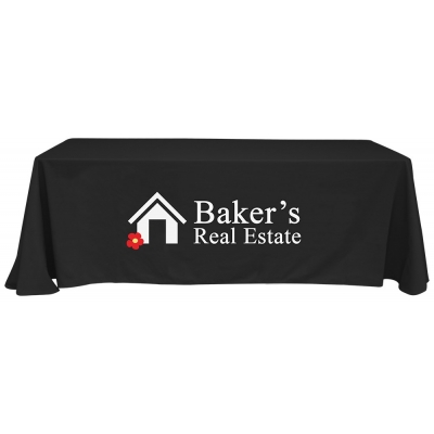 Recycled Table Cover Recycled Table Throw Recycled Promotional Product Tradeshow Table Cover