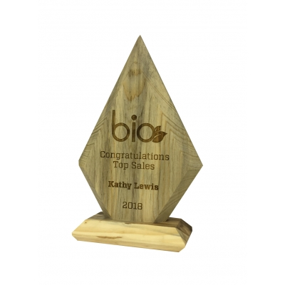 Recycled Wood Award Eco Friendly Award