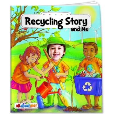Recycling Book for Kids   USA Made   Eco Promotional Products ...