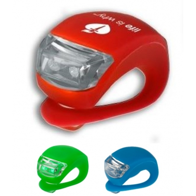 LED Silicone Bicycle Safety Light