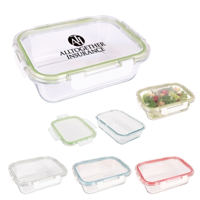 Reusable Rectangular Food Storage Container - Snap Lid