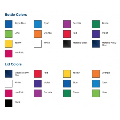 Reusable coffee cup colors