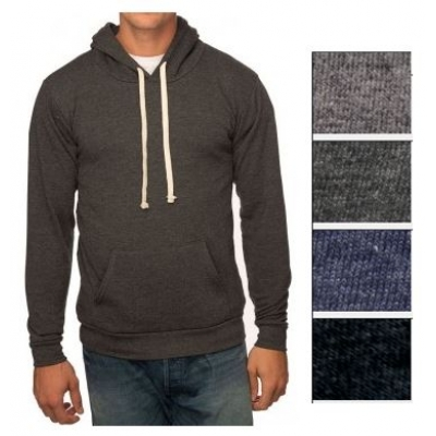 Unisex Pullover Hoody   Organic Cotton   Recycled Polyester   USA Made