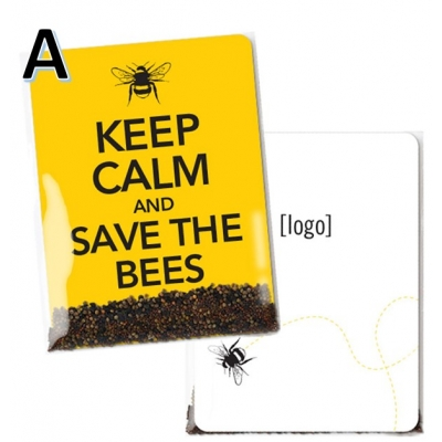Save the Bees Wildflower Seed Packet A