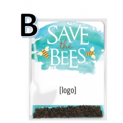 Save the Bees Wildflower Seed Packet B