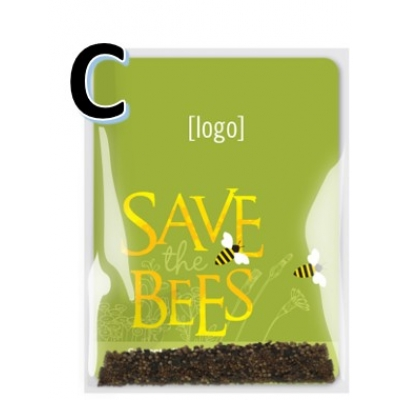 Save the Bees Wildflower Seed Packet C