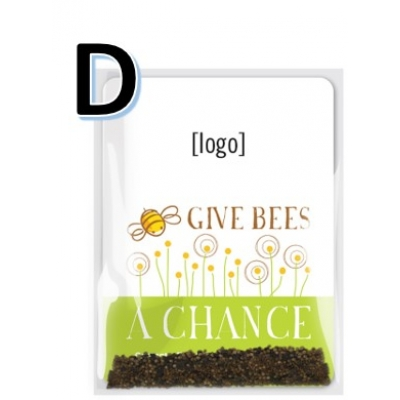 Save the Bees Wildflower Seed Packet D