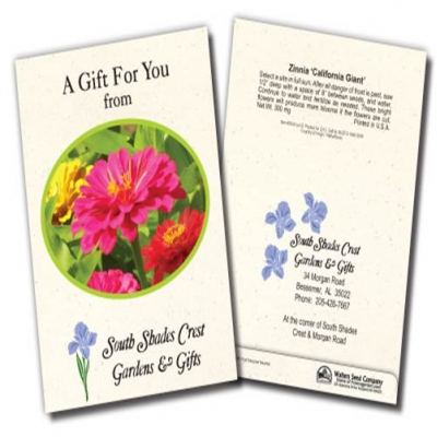 Custom Seed Packets | USA Made | Wholesale Seed Packets | Promotional Seed Packets