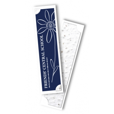 Seeded Bookmark Eco Friendly Bookmark Seed Paper Bookmark