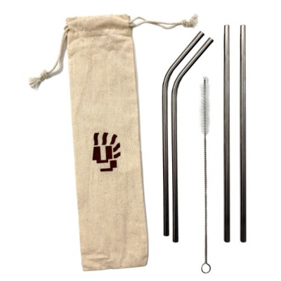 Stainless Steel Straw Set Wholesale Reusable Straws Eco Friendly Straws