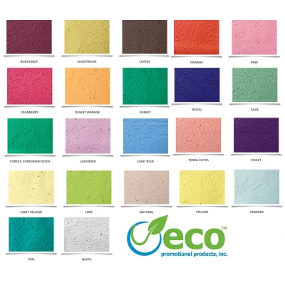 Plantable Paper Colors promo