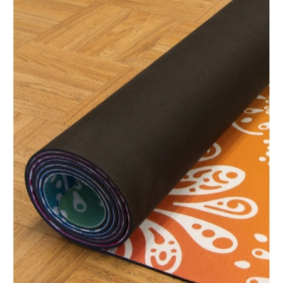 Sublimated Yoga Mat Back