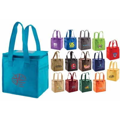 Insulated Lunch Tote Cooler Bag Thermo Recycled Promotional Product