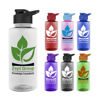 USA Made Tritan Drink Thru Water Bottle | Eco Promotional Products