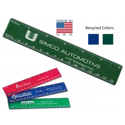 USA made 6 inch ruler promotion