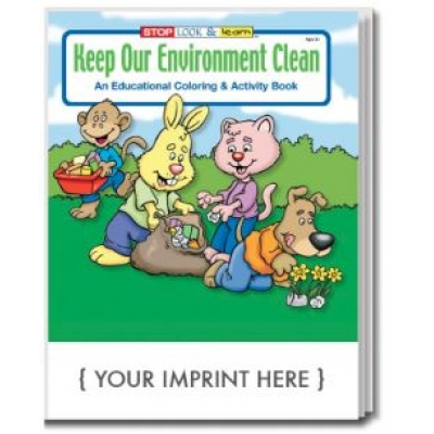 USA made environment activity book - keep our environment