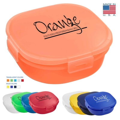 Lunch or Leftovers Container   USA Made   Reusable