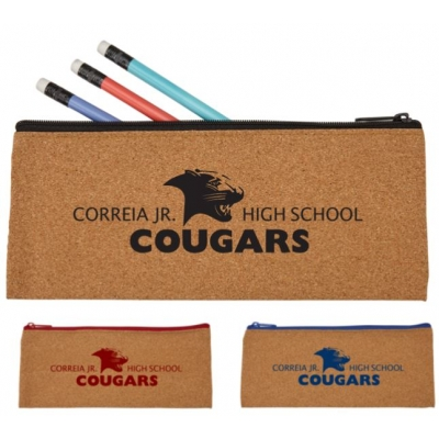 Cork Pencil and Pen Holder Pencil Pouch