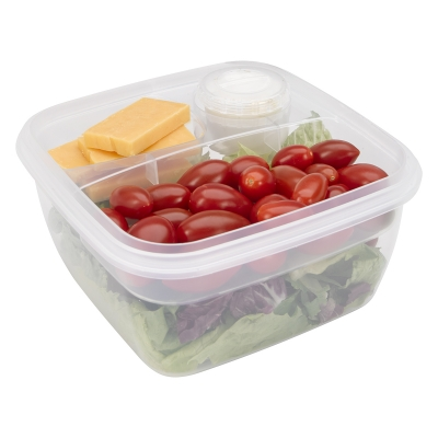 Reusable 3 Compartment No Waste Lunch Set Promo
