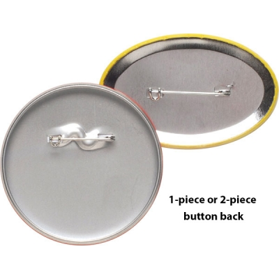 USA Made Recycled Buttons Back