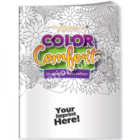 Adult Coloring Books USA Made Animal Themed Eco Promotional Products
