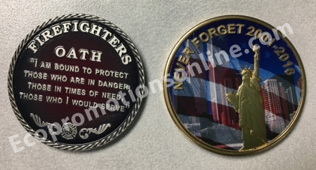 Custom Minted Challenge Coins | USA Made | Eco Promotional Products