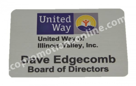 Custom Name Badges - USA Made Aluminum | Eco Promotional