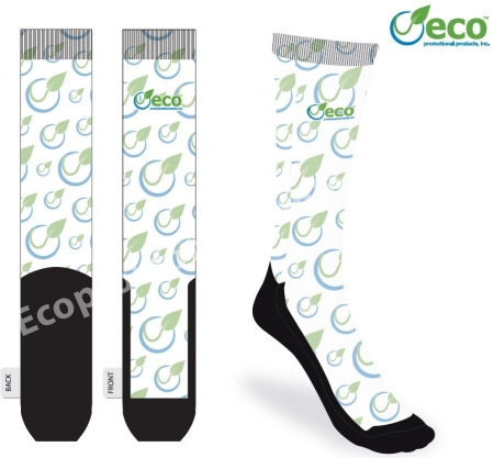 Custom Socks | USA Made | Full Color | Eco Promotional Products