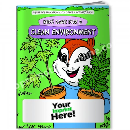 Personalized Coloring Books | Clean Environment Theme | Eco ...