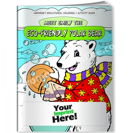 Personalized Coloring Books | Eco-Friendly Polar Bear | Eco ...