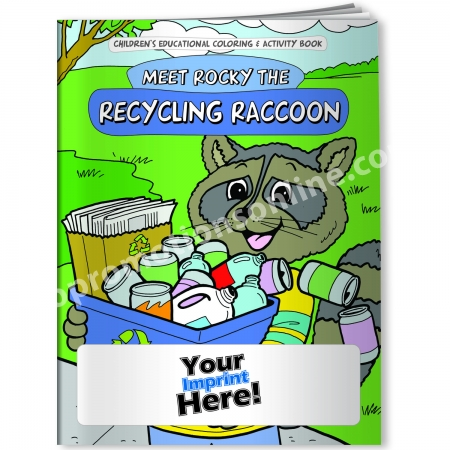 Personalized Coloring Books | Recycling Theme | Eco Promotional ...