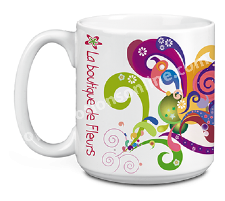 Large Ceramic Coffee Mug | Full Color Sublimation | 20 oz