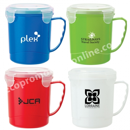 Personalized Soup Mugs Reusable 24 Oz Eco Promotional Products