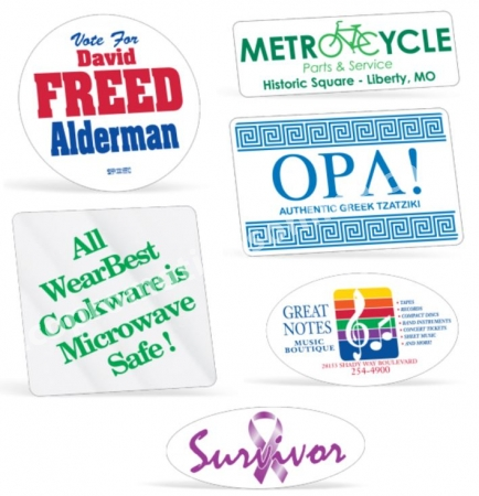 Usa made recycled custom sticker 2d circle sticker rolls custom sticker recycled stickers wholesale stickers