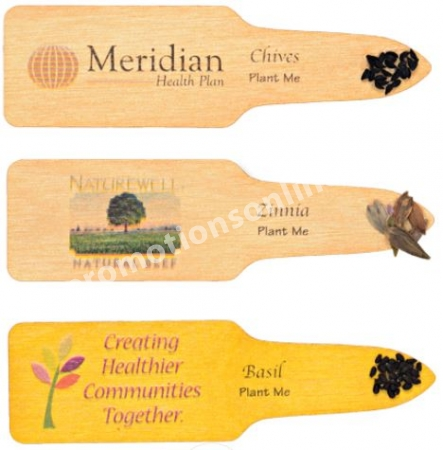 Wood Garden Stake Seeded Stake