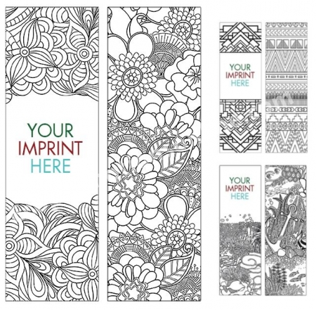 Coloring Bookmark USA Made Full Color Eco Promotional